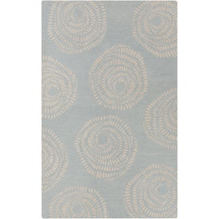 Lotta Jansdotter :Hand-Tufted Elliot Floral Wool Rug (5' x 8')