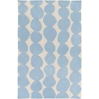 Lotta Jansdotter :Hand-Woven Dorian Abstract Wool Rug (3'3 x 5'3)