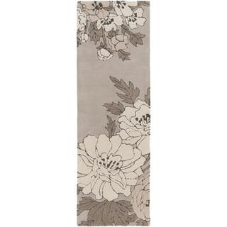Florence Broadhurst :Hand-Tufted Dolores Floral Rug (2'6 x 8')