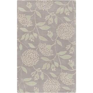 Florence de Dampierre :Hand-Tufted Daniel Floral Wool Rug (8' x 10')