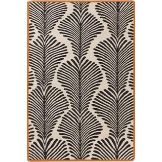 Florence de Dampierre :Hand-Woven Darian Floral Rug (3'3 x 5'3)