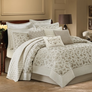 Bombay Pinole 12-piece Comforter Set--Coverlet Set Included