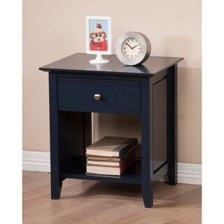 Cityscape Navy Top Drawer Nightstand