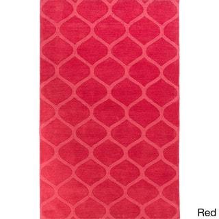 Handmade Jean Casual Style Wool Rug (8' x 11')