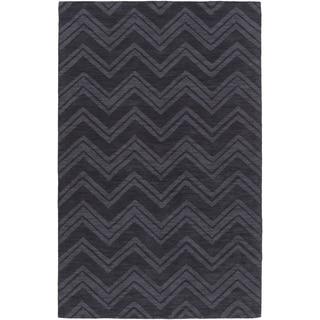 Handmade Jodie Casual Style Wool Rug (8' x 11')