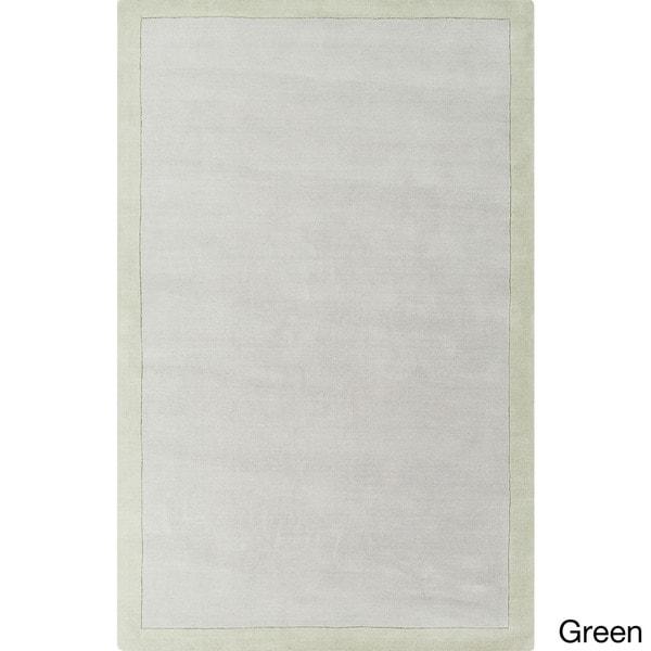 Handmade Hazel Casual Style Wool Rug (8' x 11')