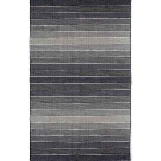 Skylar 518 Grey Stripe Area Rug (8' x 10')