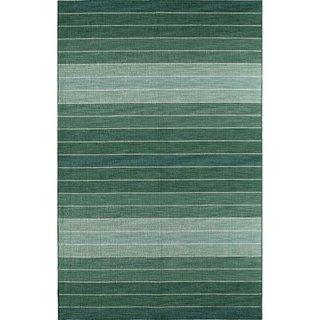 Skylar 618 Blue Stripe Area Rug (8' x 10')