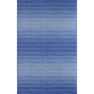 Skylar 5718 Brown Stripe Area Rug (8' x 10')
