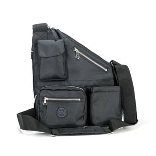 Sacs of Life Metro 228 Black Crossbody Bag 2-piece Set