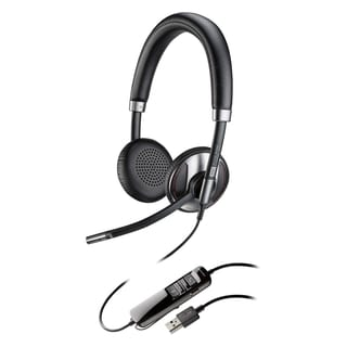 Plantronics Blackwire 725 Corded USB Headset With Active Noise Cancel