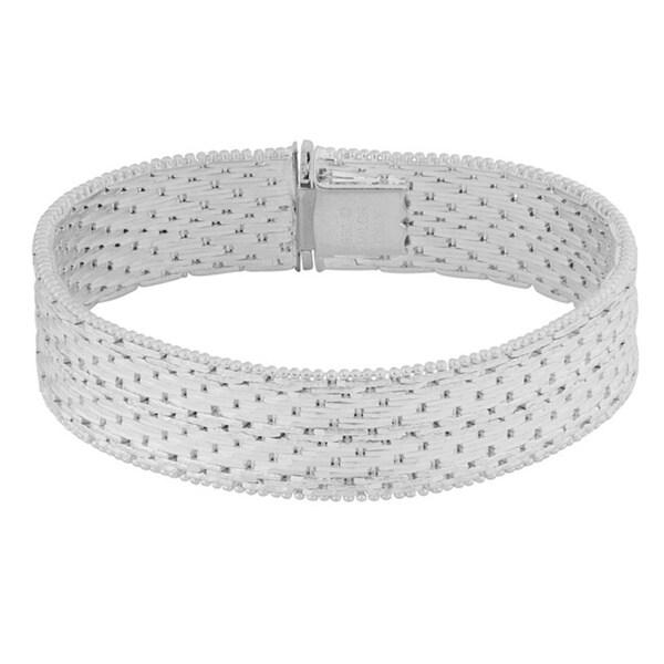 Argento Italia Sterling Silver Stunning Riccio Bracelet