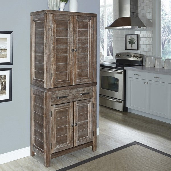 Home Styles Barnside Pantry Overstock