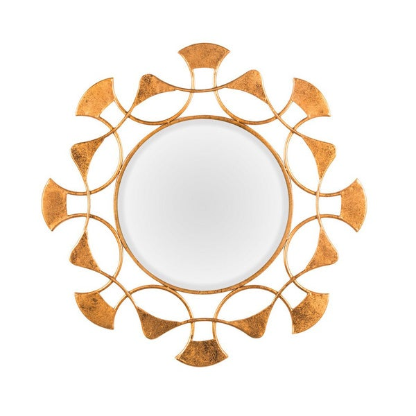 Aurelle Home Decorative Metal Frame Mirror
