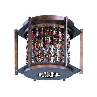 3-light Trinket Flush Mount Light