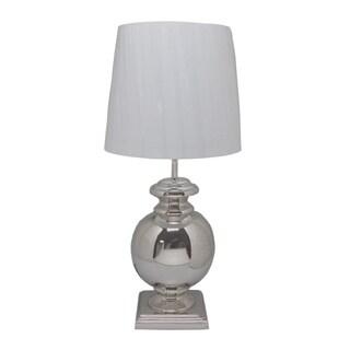 Aurelle Home 1-light White Table Lamp