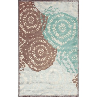 Hand-knotted OP08_RNR Brown Area Rug (2.6' x 8')