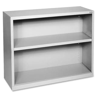 Grey Lorell Fortress Series 2-shelf Bookcase