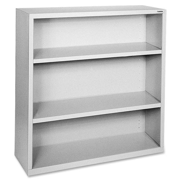 Grey Lorell Fortress Series 3-shelf Bookcase