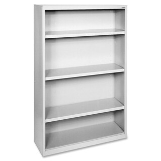 Grey Lorell Fortress Series 4-shelf Bookcase