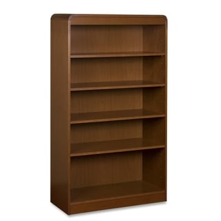Cherry Lorell 5-shelves Bookcase