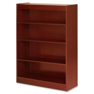 Cherry Lorell Four Shelf Panel Bookcase