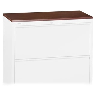 Cherry Lorell 36-inch Lateral Files Laminate Tops