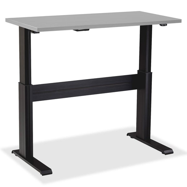 Black Lorell Electric Height-Adjustable Base 60-inch Width