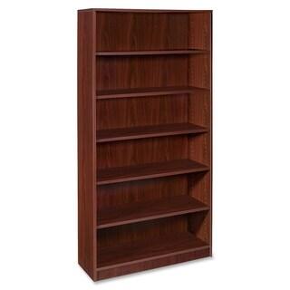 Lorell Mahogany Essentials Bookcase