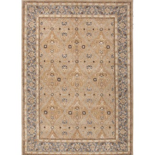 Hand-Tufted Oriental Pattern Brown/Blue (5x8) - PM54 Area Rug