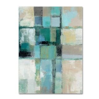 Silvia Vassileva 'Island Hues Crop II' Canvas Art