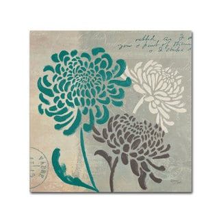 Wellington Studio 'Chrysanthemums I' Canvas Art