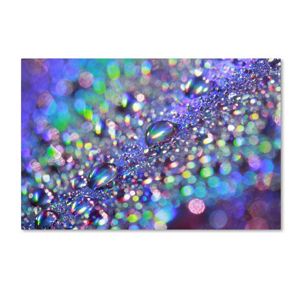 Beata Czyzowska Young 'Colours of Rainbow' Canvas Art