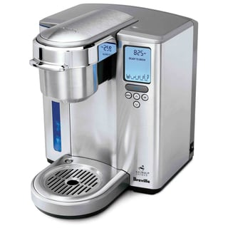 Breville BKC700XL Gourmet Single Serve Coffeemaker/Iced Beverage Function and Nifty Single Serve Coffee Baskets with (2) Cups