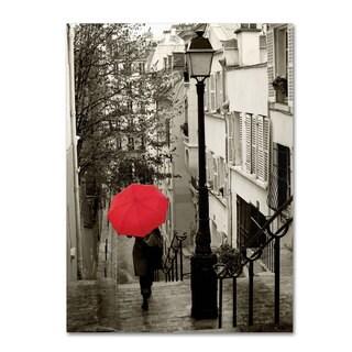 Sue Schlabach 'Paris Stroll II' Canvas Art