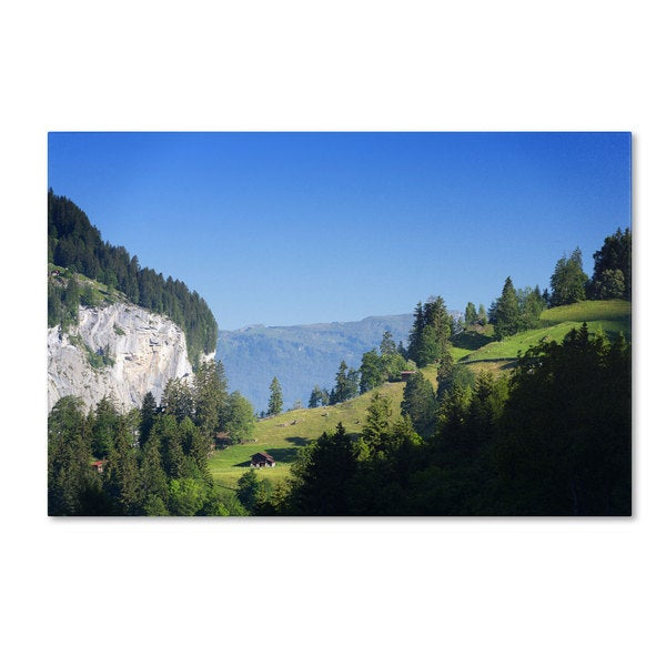 Philippe Sainte-Laudy 'Breath of Fresh Air' Canvas Art