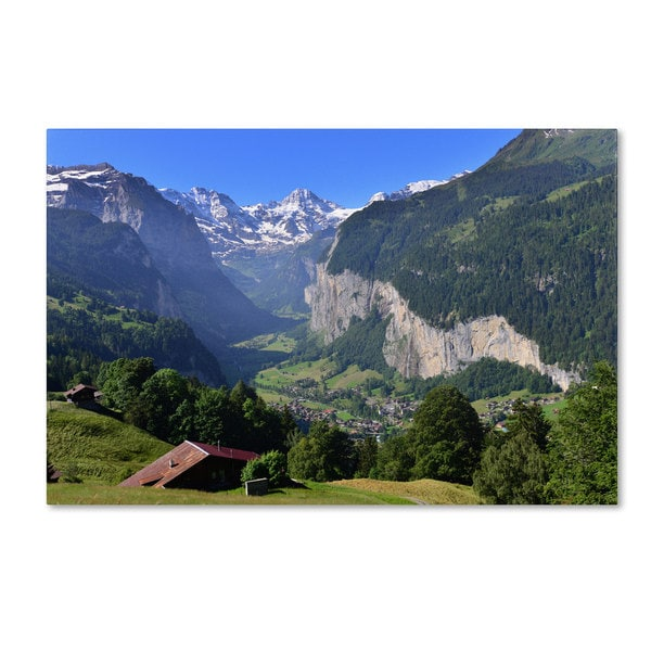 Philippe Sainte-Laudy 'The Morning Silence' Canvas Art