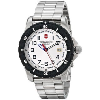 Victorinox Swiss Army Men's 241677 'Maverick Sport' Stainless Steel Watch