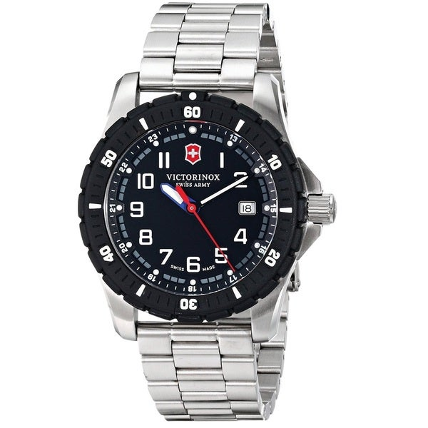 Victorinox Swiss Army Men's 241675 'Maverick Sport' Stainless Steel Watch