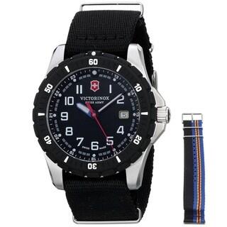 Victorinox Swiss Army Men's 241674.1 'Maverick Sport' Extra Strap Black Nylon Watch