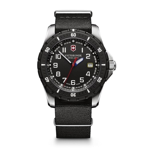 Victorinox Swiss Army Men's 241674.1 'Maverick Sport' Extra Strap Black Nylon Watch