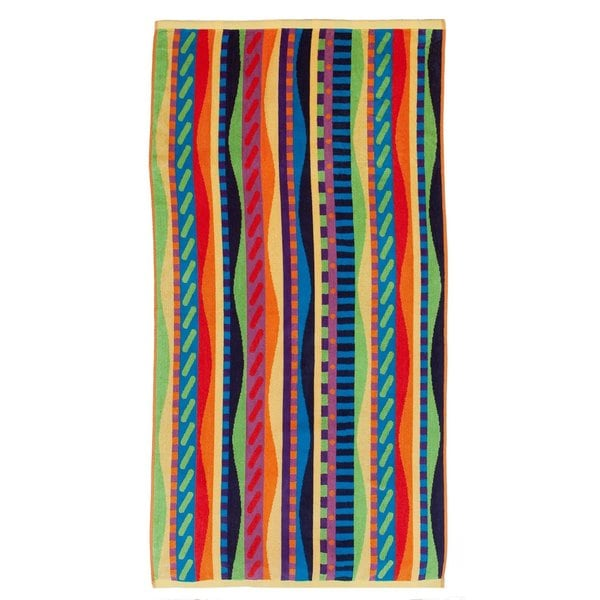 Celebration Velour Summer Waves Beach Towels (Set of 2)