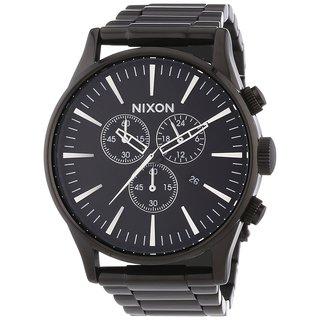 Nixon Men's A386632-00 Sentry Gunmetal Stainless Steel Watch