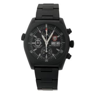 Luminox Men's 9072 SR-71 Blackbird Black Stainless Steel Automatic Watch