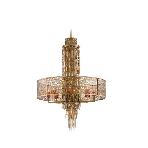 Corbett Lighting Riviera 15-light Pendant