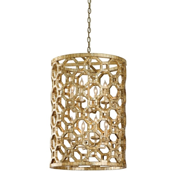 Corbett Lighting Regatta 8-light Entry Pendant