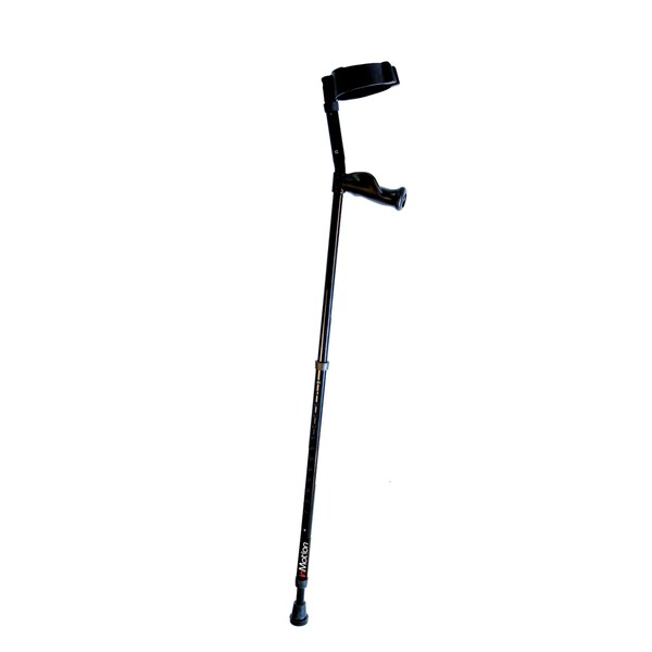 Millennial Medical MWD7500C In-Motion Pro Tall Forearm Crutch - Black