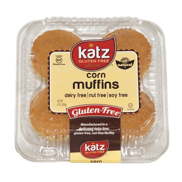 Katz Gluten-free Corn Muffins (2 Pack)