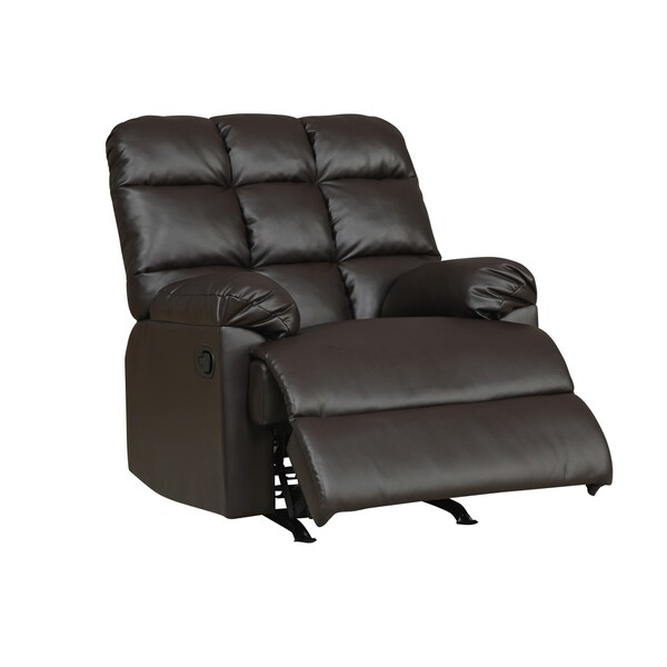 Dark Brown Rocker Recliner