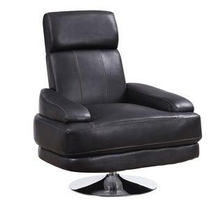 Chocolate Adjustable Swivel Chair